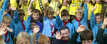 Guides and Scouts in Orpington